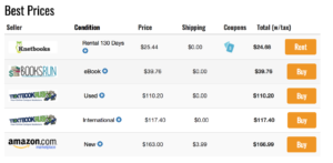 Campus Books Price Comparison For Cheap Textbooks